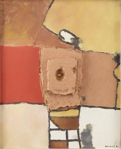 Josep Guinovart, 'Petit cup i vermell', 1991