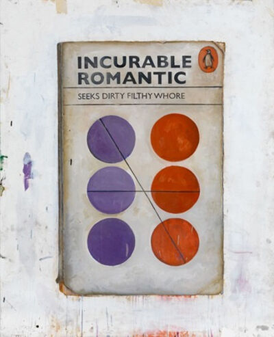 Harland Miller, 'Incurable Romantic Seeks Dirty Filthy Whore', 2011