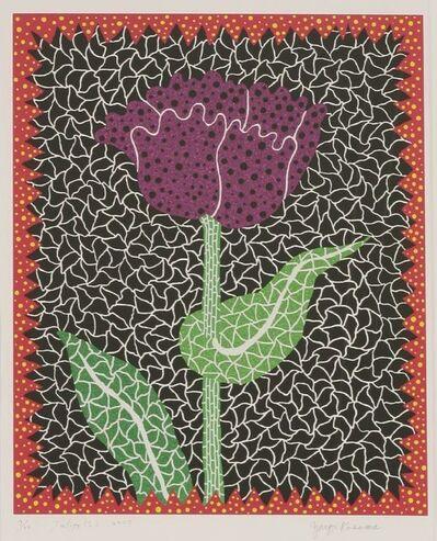 Yayoi Kusama, 'Tulipe (I) (Kusama 290)', 2000