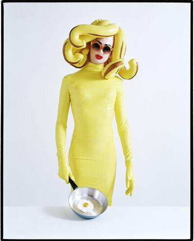 Tim Walker, 'Miss Pandemonia fries an egg. London, 2013', print date: 2019