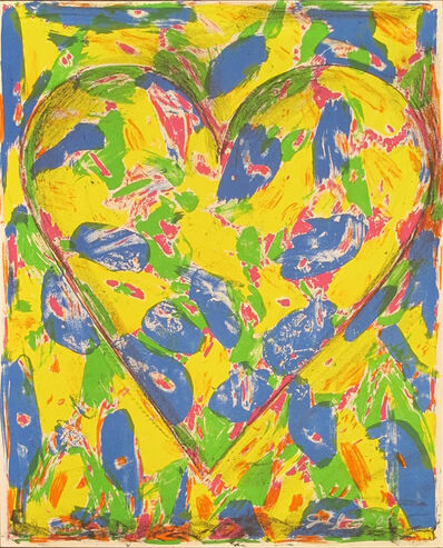 Jim Dine, 'The Blue Heart', 2005