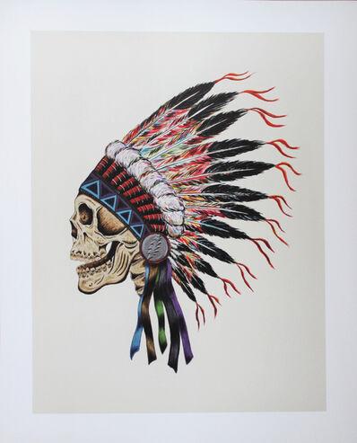 Wes Lang, 'Grateful Dead Skull', 1990