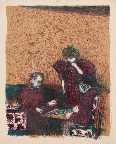 Édouard Vuillard, 'La Partie de dames, from Paysages et Intérieurs (The Game of Checkers, from Landscapes and Interiors) (R.-M. 32)', 1899