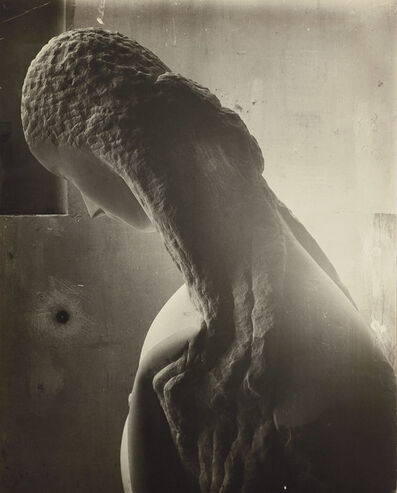 Constantin Brâncuși, 'Femme se regardant dans un miroir [Woman looking into a mirror]', 1909