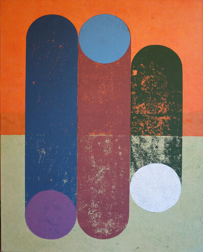 Hendrik Zimmer, 'o.T. (Wood) ', 2018