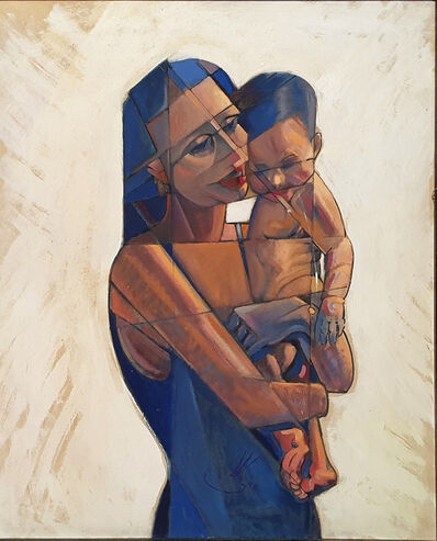 Agustín de la Cruz, 'Maternity ', 1995