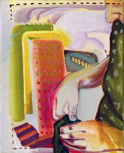 Yana Dimitrova, 'Tobacco Stringing Within a Tapestry', 2019