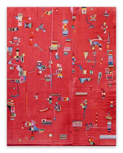 Jeremie Iordanoff, 'L'ombre d'un doute (Abstract painting)', 2020