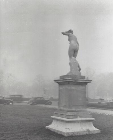Ervin Marton, 'Fog on Paris, Tuileries Garden', 1949