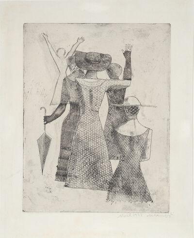 Massimo Campigli, 'L'Incontro. No 2. The Meeting.', 1932