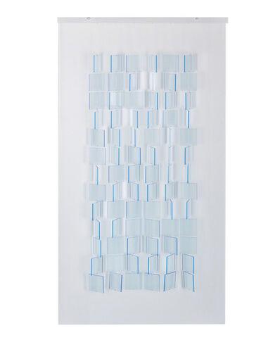 Julio Le Parc, 'Mobile Translucide Bleu', 2017