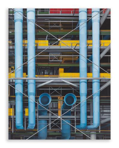 Hildebrando de Castro, 'BEAUBOURG #1 (Série Centre Pompidou)', 2020