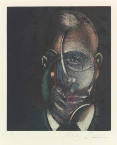 Francis Bacon, 'Portrait of Michel Leiris 1976 ', 1978