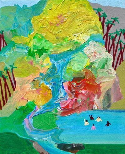 Alexander Paulus, 'Bathers in paradise', 2018