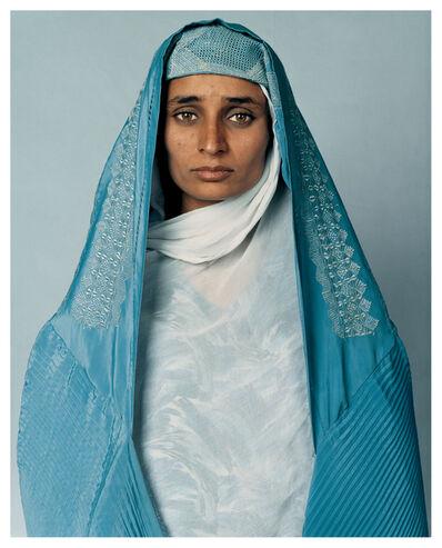 James Mollison, 'Basima, 16, Pol-i-Charki, Afghanistan', 2002