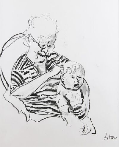Alex Hain, 'Grandma with child ', 2019