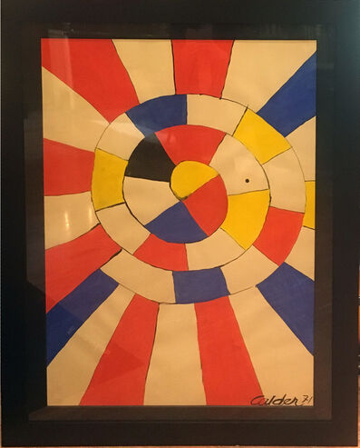 Alexander Calder, 'The Wheel', 1971