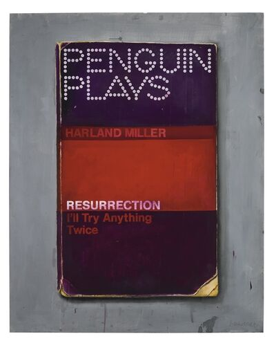 Harland Miller, 'Resurrection (I'll Try Anything Twice) ', 2013