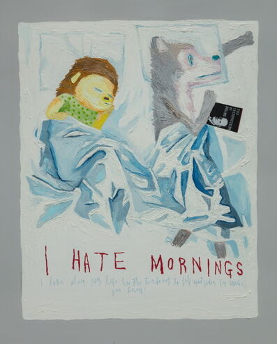 Woo Kuk Won, 'I Hate Morning ', 2018