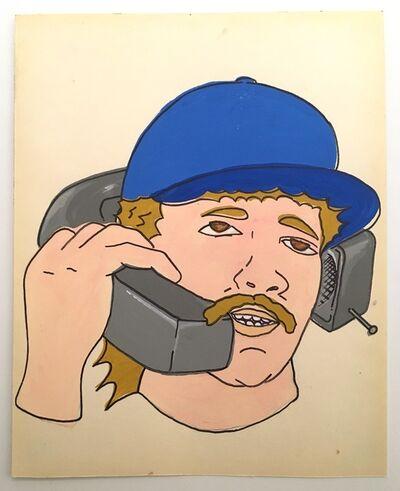 Kilroy Savage, 'Mustache Phone', 2019