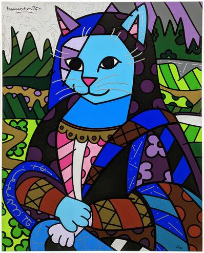 Romero Britto, 'MONA CAT', UNKNOWN