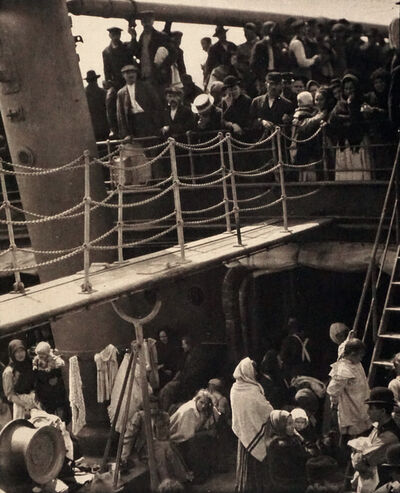 Alfred Stieglitz, 'The Steerage', 1907 (Printed 1911)