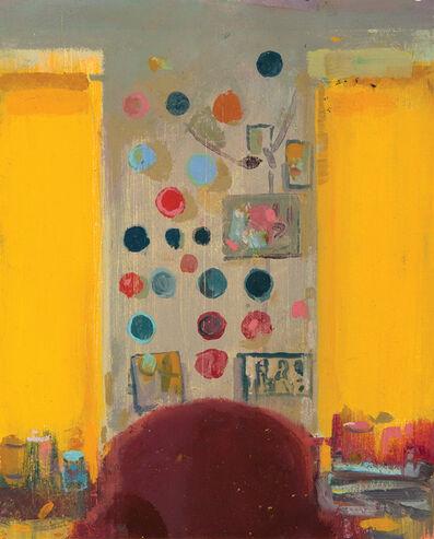 Tollef Runquist, 'Studio Wall #2'