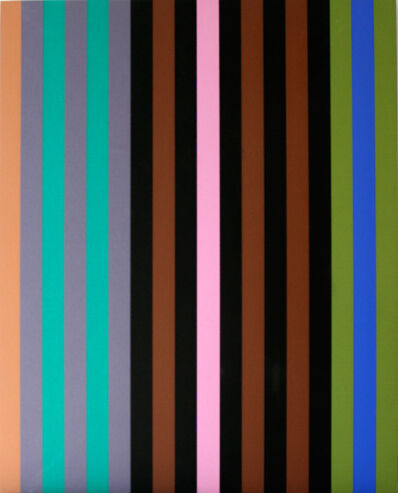 Gene Davis, 'Portfolio Series I (Cover of the Complete Box Set of 6)', 1969