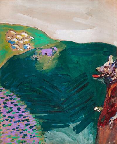 Marc Chagall, 'Le loup devenu berger ', 1927