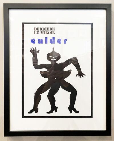 Alexander Calder, 'Cover (Derriere le Miroir # 212)', 1975