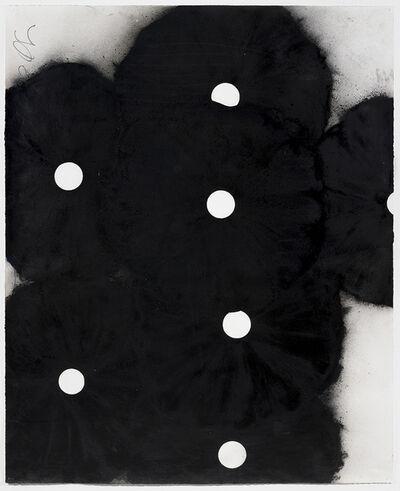 Donald Sultan, 'Seven Black Flowers, 7 June', 1999