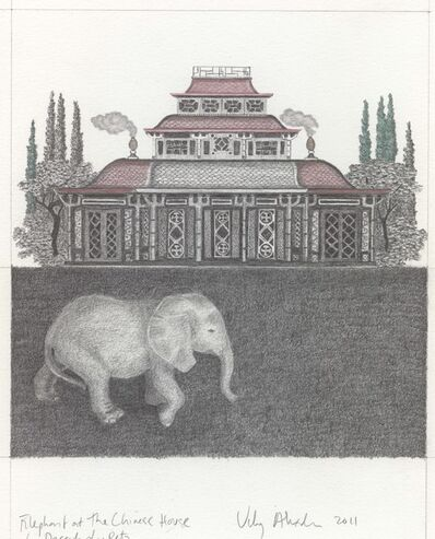 Vikky Alexander, 'Elephant at the Chinese House', 2011