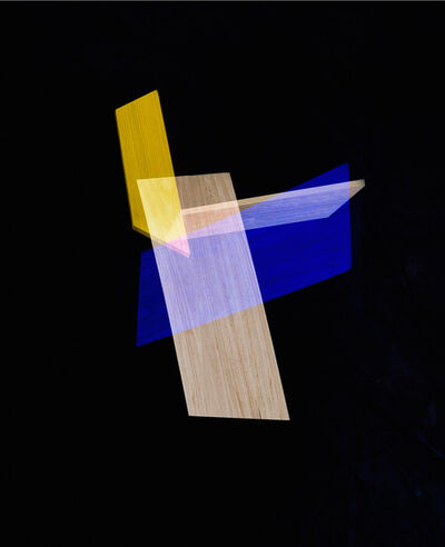 Alejandra Laviada, 'Blue, Yellow Intersection', 2014