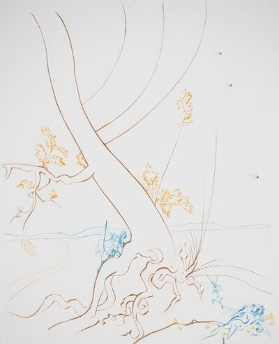 Salvador Dalí, 'The Tree of Knowledge', ca. 1974