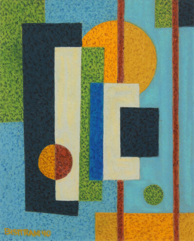 Emil Bisttram, 'Rectangle and Sun', 1940