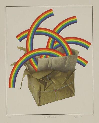 Patrick Hughes, 'Registered Rainbows', 1980