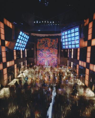 Timothy Hursley, 'Untitled Keith Haring Backdrop at Palladium 1', 1985