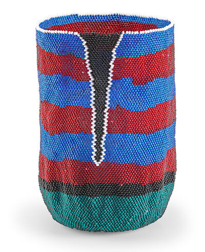 Jeannine Anderson, 'Untitled vessel (Red, Blue, Green), USA', Late 20th/early 21st C.