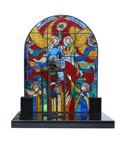 Norman Rockwell, 'Stained Glass Mender', 2017