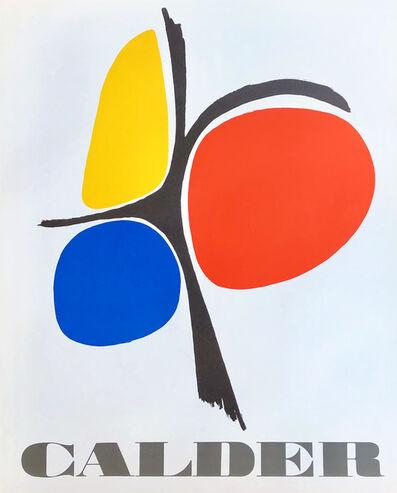 Alexander Calder, 'Vintage Alexander Calder poster circa mid 70s ', ca. 1975