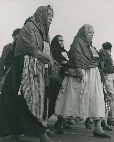 Rodrigo Moya, 'Sepelio de Francisco Goitia', 1960
