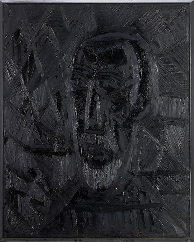 Francis Newton Souza, 'Head of a man', 1965