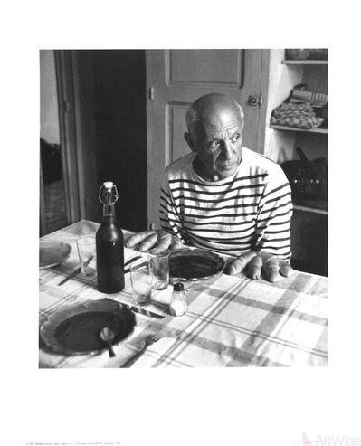 Robert Doisneau, 'Les Pains de Picasso, Vallauris (1952)', 1998