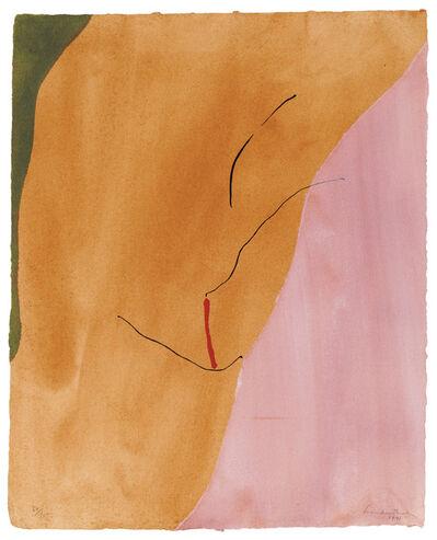 Helen Frankenthaler, 'Sanguine Mood', 1971