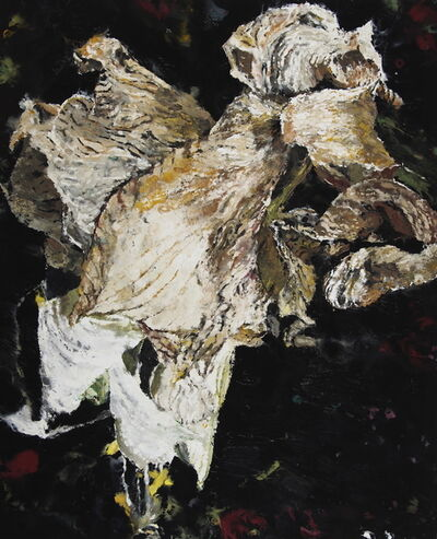 Philippe Cognée, 'White Amaryllis 2', 2019