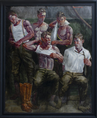 Mark Beard, 'The Locker Room ', date unknown