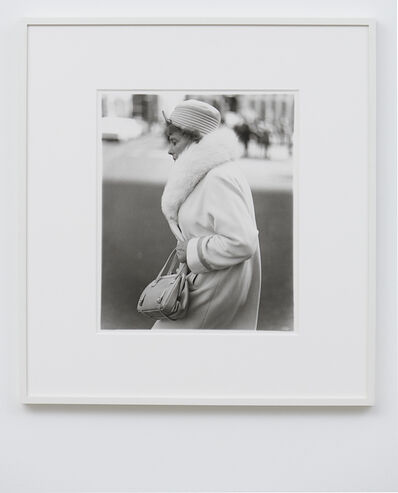 Diane Arbus, 'A woman passing on the street, N.Y.C.', 1971 / printed later