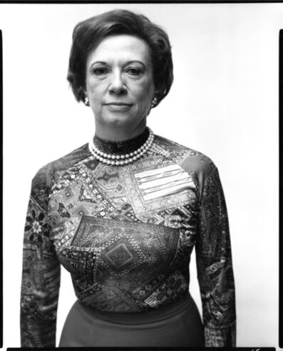 Richard Avedon, 'Rose Mary Woods, secretary, Washington, D.C., August 10, 1975 ', 1975