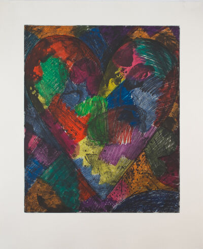 Jim Dine, 'The Heart Called Washington', 2014