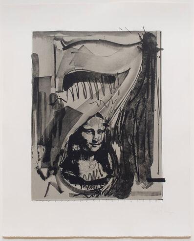 Jasper Johns, 'Figure 7, from the Black Numerals', 1968